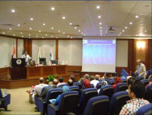 الزيارة الميدانية للمنطقة الجغرافية البترولية بالاسكندرية يومى 4 ، 5 اكتوبر 2011