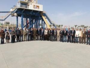زيارة جمعية البترول المصرية الى منطقتى العين السخنة ومدينة السويس يوم الاربعاء بتاريخ 22 ديسمبر 2010