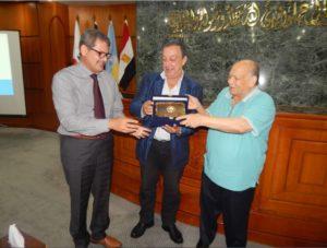 الزيارة الميدانية للمنطقة الجغرافية البترولية بالاسكندرية يومى 24 ، 25 أغسطس 2016