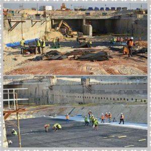 الزيارة الميدانية لموقع الإنفاق الثلاثة العابرة لقناة السويس بمنطقة الإسماعيلية يوم الثلاثاء بتاريخ 19 يناير 2016