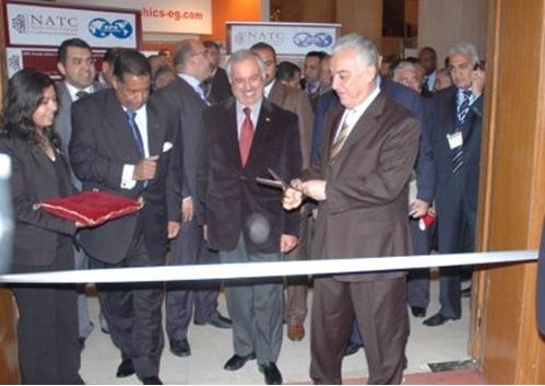 المؤتمر والمعرض الدولى لجمعية مهندسى البترول بشمال افريقيا من الفترة 14/2/2010 الى 17/2/2010