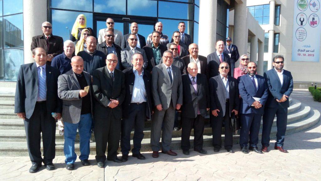 زيارة جمعية البترول المصرية لشركة سيدبك  يوم الخميس بتاريخ 14 ديسمبر 2017