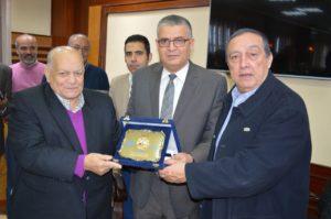 زيارة جمعية البترول المصرية لشركة العامرية لتكرير البترول يوم الاربعاء بتاريخ 13 ديسمبر 2017