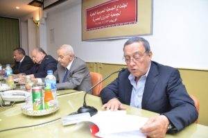 اجتماع الجمعية العمومية العادية يوم الاربعاء الموافق  22 / 4 / 2015